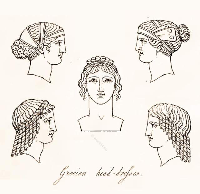 ancient greek headdresses and hairstyles. | world4
