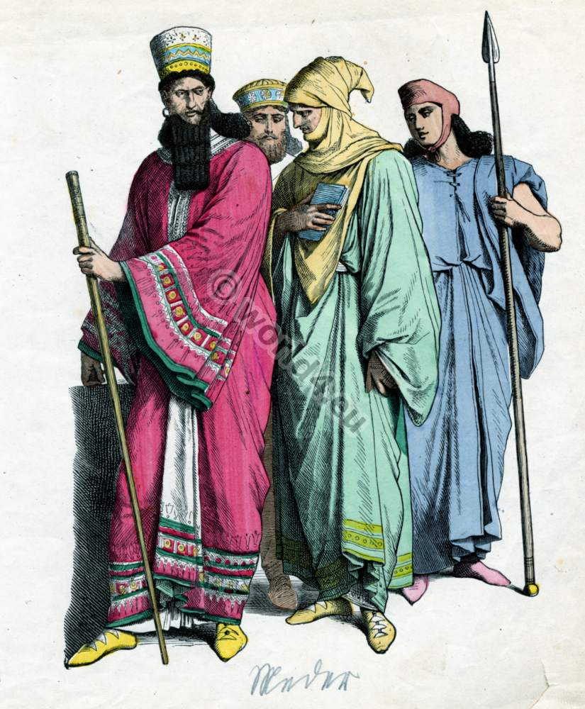 Ancient costumes of the Persians. | Costume History
