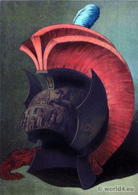 Ancient Greek Bronze helmet