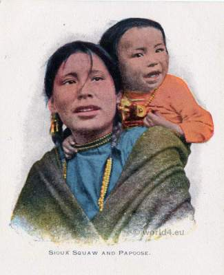 Sioux, costume. Native, American, dresses, clothing