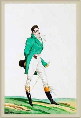 Incroyables Muscadins. Dandyism. Dandy fashion