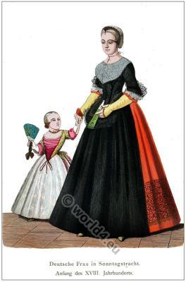 German baroque costume.