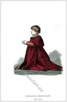 Middle ages child dresses