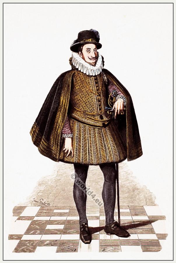Ferdinand II. Archduke of Austria in spanish court dress.