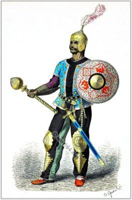 Persian general costume 15th century