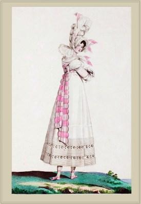 Merveilleuses. Neoclassical fashion. 18th century costume. Regency fashion. Fashion history. France Revolution.