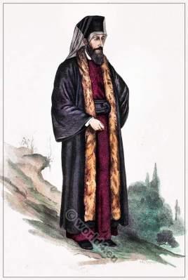 Armenia Orthodox priest costume.