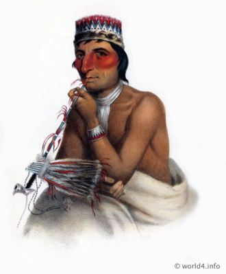 Chippewa, Chief, Natives, Native, America, Tribes, Indian, costumes