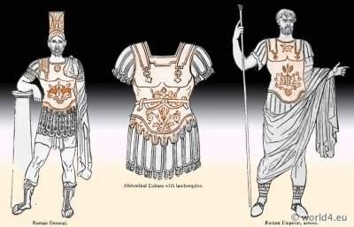 emperor, ancient, roman, armor, cuirass, lambrequins, helmet