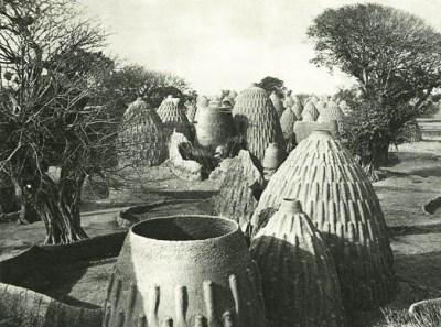 Architecture African Musgu village.