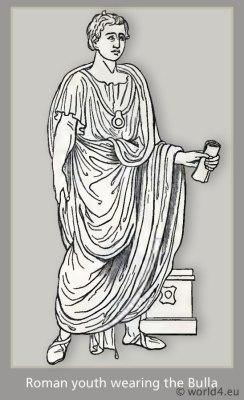 ancient, roman, bulla