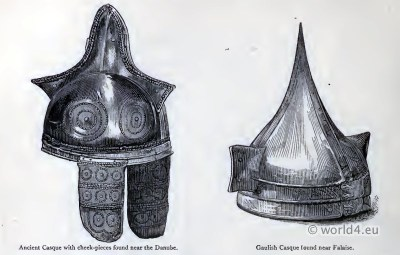 Britain. Gaulish Casque. celtic helmets. Ancient armor