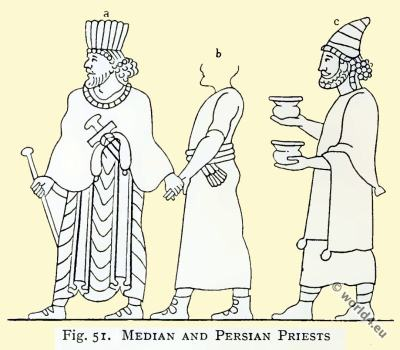 The Medes. Median and Persian Priests costumes