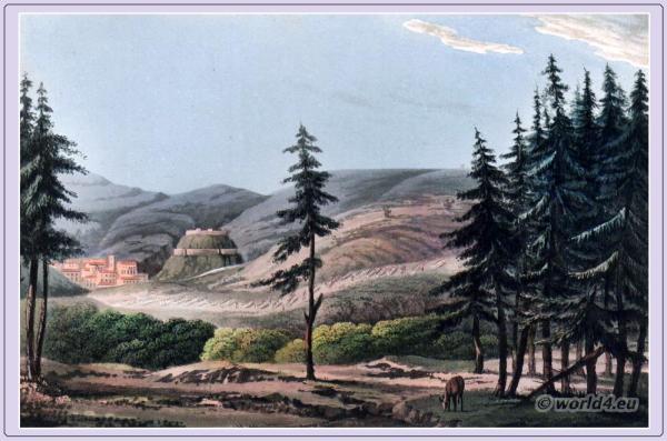 Landscape,Portugal, Torres Vedras, corregidoria, Lisbon,Peninsula War.