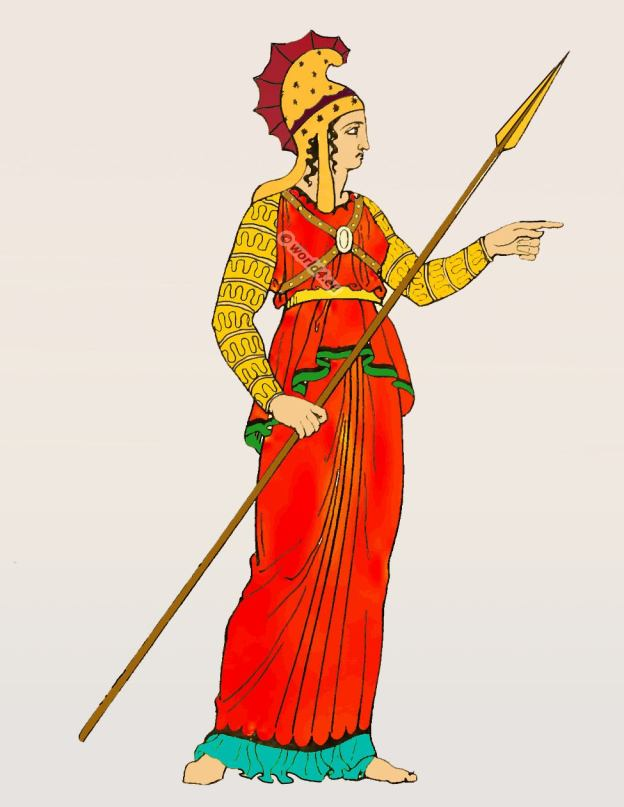 Amazon, warrior, costume, Ancient Greece, clothing, Classical, antiquity,