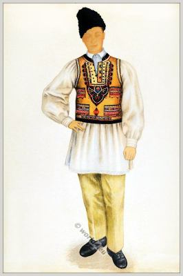 Tracht Fogarasch Siebenbürgen Rumänien.