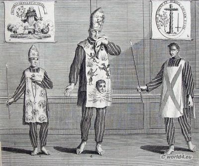 Spain Inquisition costumes ideas. Catholic church clothing. Criminal Habits dresses