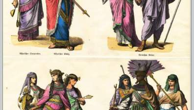 Assyrian, Babylonian costume history  Mesopotamia