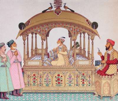 Moghul Emperor. Grand Mogul. Costumes. Auguste Razinet