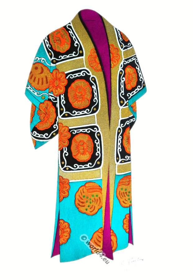 Atsuita, karaori, Costume, Nō, Japan, Kimono, Geisha