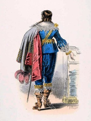 Seigneur, Louis XIII, court, Baroque, Nobility, French, costume, fashion history, historical, dress, 17th century,