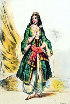 Greek, Greece, traditional, costume, 19th century,