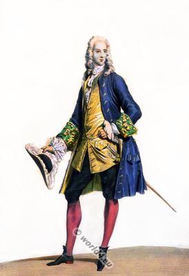 Baroque fashion. 18th century costumes. Fashion history. Costume design.