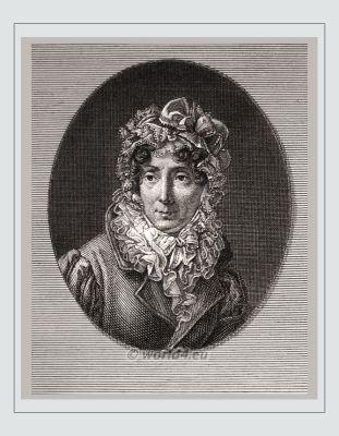 Félicité de Genlis. Famous French woman. 18th century. Madame de Genlis. French writer, Artist, Literature. Early feminist, femme fatale