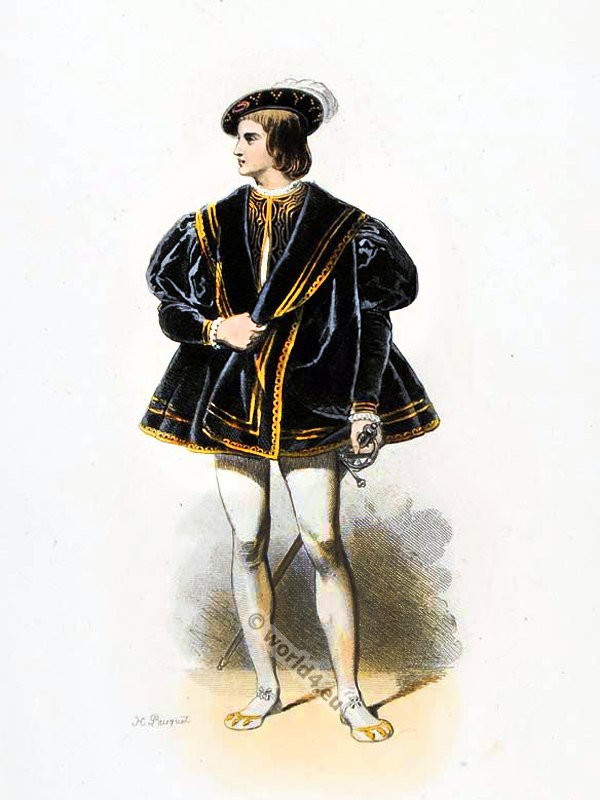 Francis III, Brittany, Dauphin, Renaissance, costume