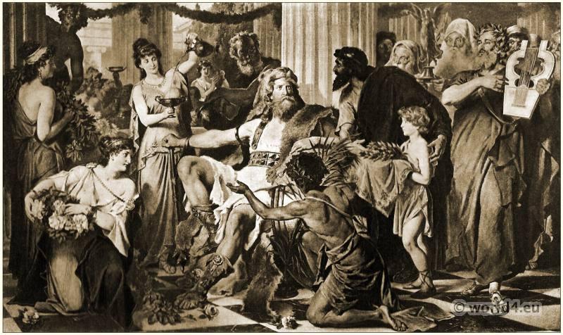 Alaric, King, Visigoths,