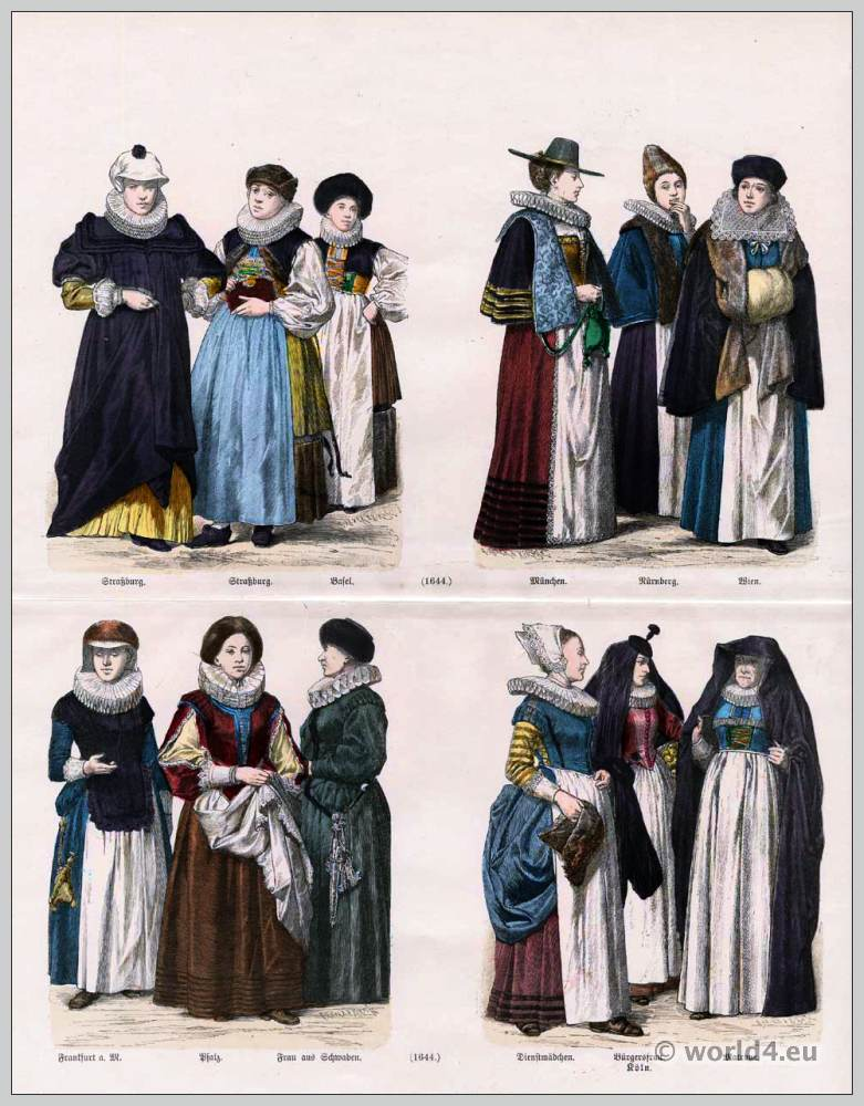 German Clothing 17th Century Costume History