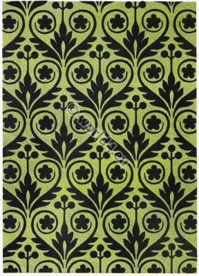 French silk design fabric with velvet apliques 17th century. Baroque textil design. Musée de Cluny