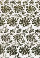 Modern two tones Japan fabric design. Textil ornament