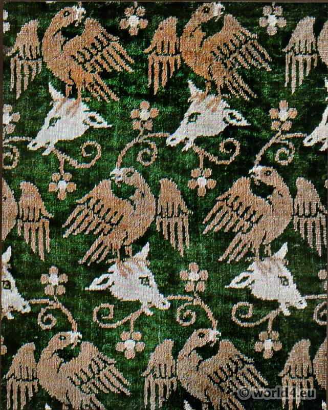 Persian Fabric: Collection Of Antique Fabric Design.