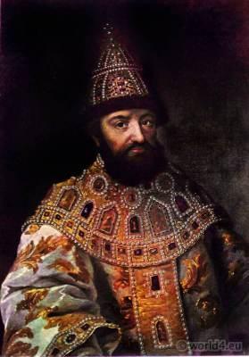 Mikhail Fyodorovich Romanov. Zar Michail Fjodorowitsch.