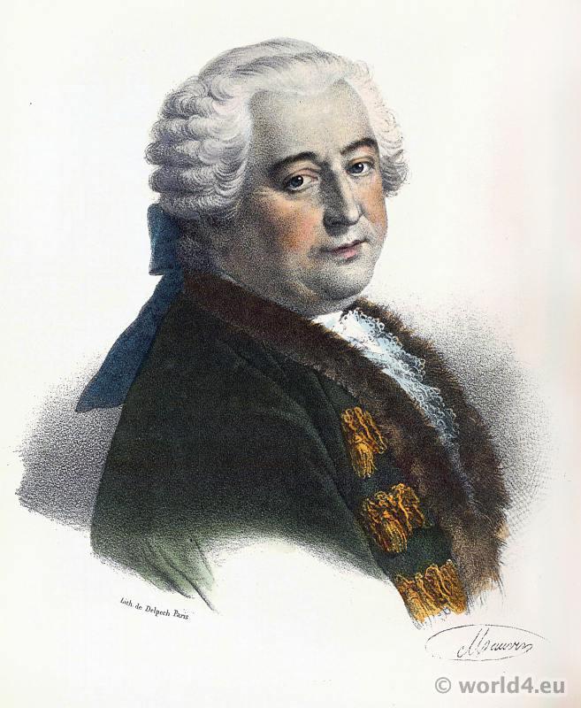Claude Adrien Helvétius. French littérateur. 18th century philosopher