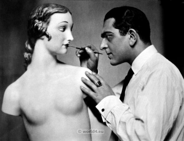 Karl Schenker. German Art deco photojournalist, artist and fashion photographer. 1920s fashion.