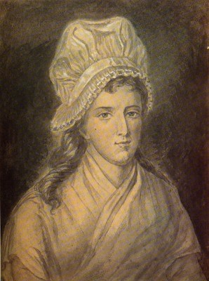 Charlotte Corday. French Revolution costume. Murder of Jean Paul Marat.