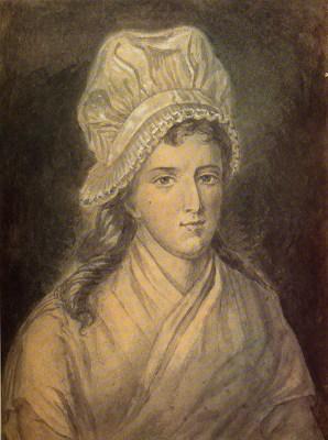Charlotte Corday. French Revolution costume. Murder of Jean Paul Marat.