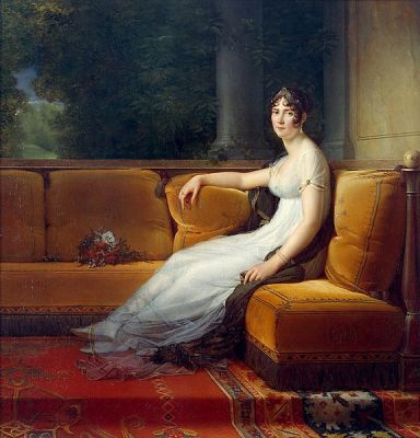 France Empress Joséphine. French revolution fashion. Directory Merveilleuses Costumes. The wife of Napoleon Bonaparte