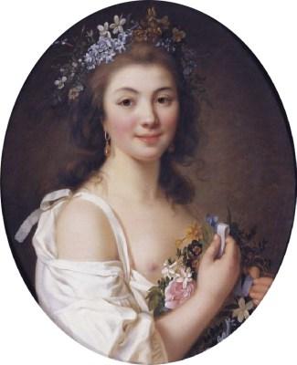 Comtesse de Genlis. Regency fashion costumes.