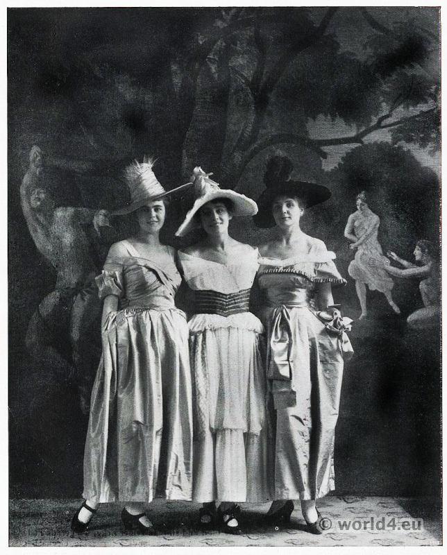 Costumes by Vienna Secession, Wiener Werkstätte, Vienna Workshops. Theatrical costumes for Budapest
