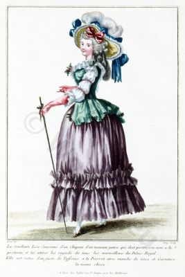 Semillante, Lise, Couronne, Chapeau,Louis XVI, Court dress, Rococo, fashion history, 18th century