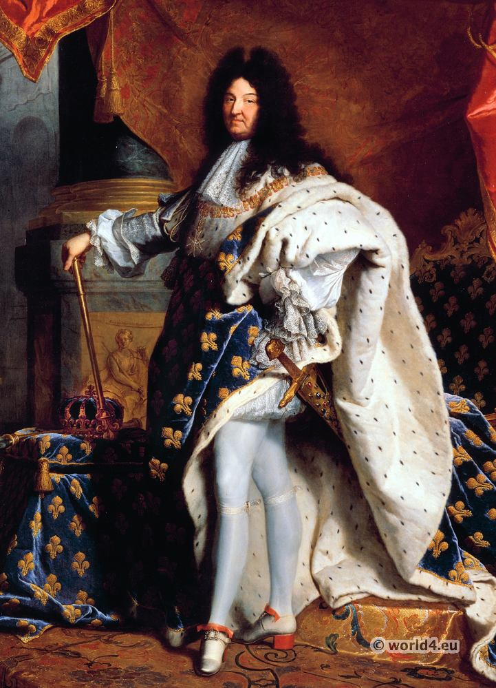 Louis XIV, Royal Costume, Baroque