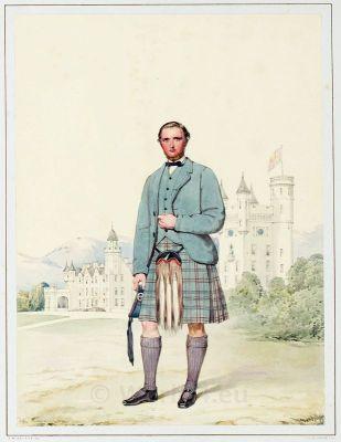 Archibald Anderson Brown, Highlander, Scotland, Tartan, Kilt,