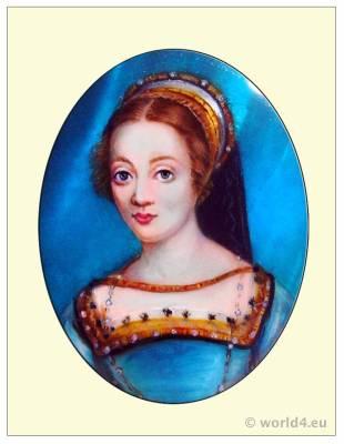 French Queen, Claude de France, Renaissance, fashion history, costume.