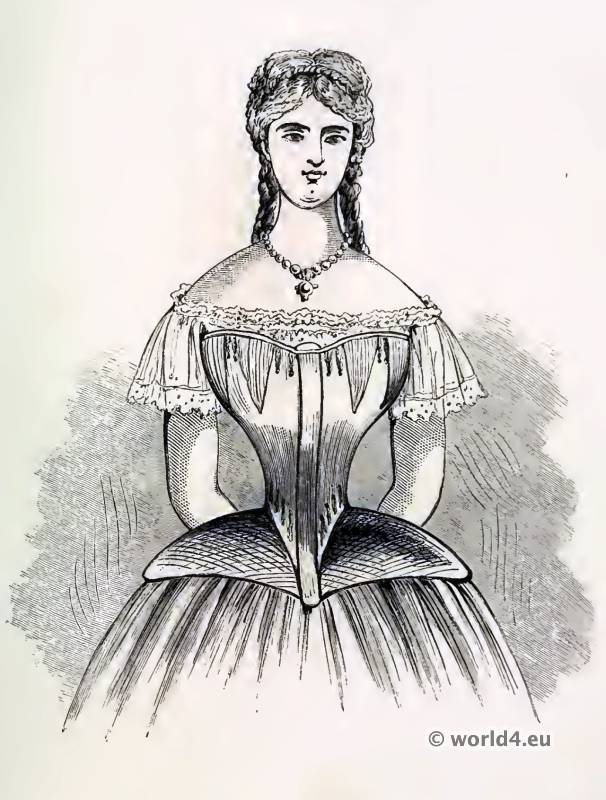 """the history nature and uses of the corset The dual nature of corsets  """"starring role"""" in the history of the western feminine body,  classical standard for assessing the public nature of a use."""