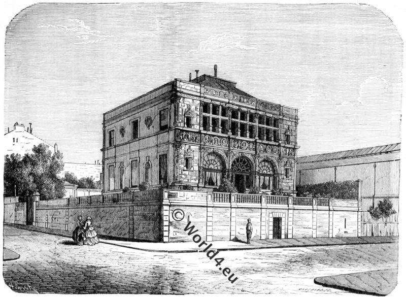 Palace,House,Francis I, Cours la Reine, Champ-Elysées,Paris