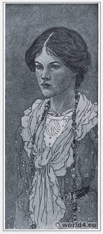 Ann Macbeth. Art Nouveau, Modernist art. The Glasgow Girls. Glasgow School of Art.