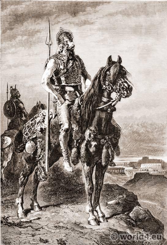 Gaul, Warriors, costume, celtic, armor